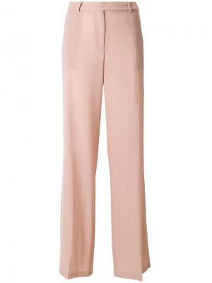 Расклешенные брюки Piccione.Piccione. Цвет: розовый и фиолетовый