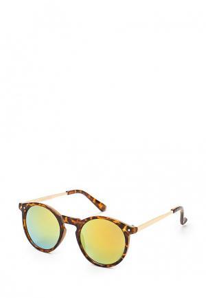 Очки солнцезащитные Visionmania. Цвет: коричневый