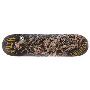 Дека для скейтборда  Allen 4 Horseman 31.25 x 8.1 (20.6 см) Antihero. Цвет: коричневый,черный
