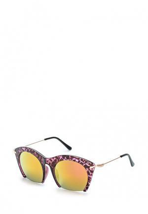 Очки солнцезащитные Noryalli. Цвет: фиолетовый