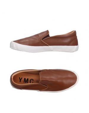 Низкие кеды и кроссовки YMC YOU MUST CREATE. Цвет: коричневый