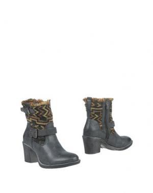 Полусапоги и высокие ботинки MARIA MARE. Цвет: стальной серый