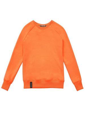 Свитшот Eniland. Цвет: оранжевый