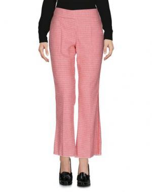 Повседневные брюки FLIVE. Цвет: красный