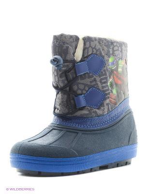 Сапоги Ninja Turtles. Цвет: синий