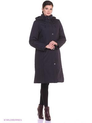 Пальто SVETA Maritta. Цвет: антрацитовый