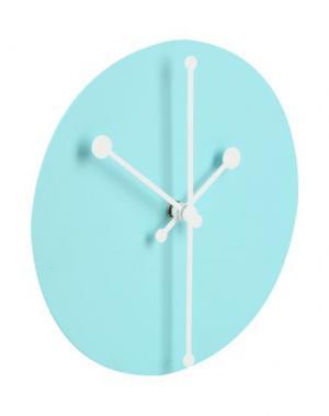 Настенные часы ALESSI. Цвет: бирюзовый