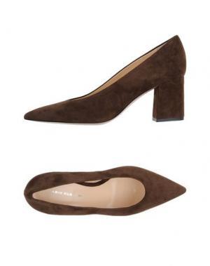 Туфли FABIO RUSCONI. Цвет: темно-коричневый