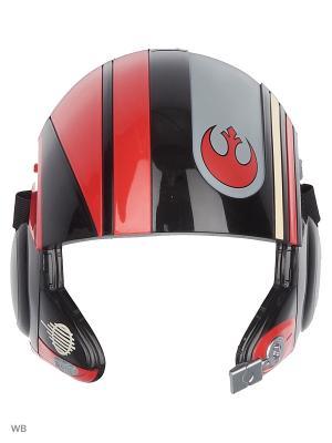 Маска героя вселенной Звездные Войны эпизод 8 Star Wars. Цвет: черный, красный, синий