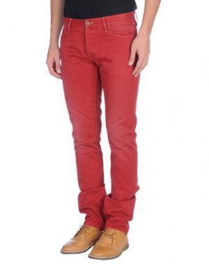 Повседневные брюки IT'S MET. Цвет: кирпично-красный