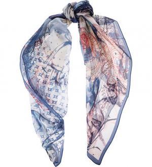 Легкий платок из шелка FRAAS. Цвет: синий