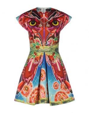Короткое платье MANISH ARORA. Цвет: пурпурный