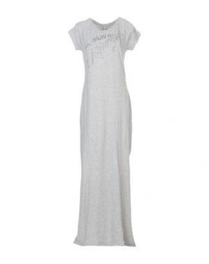 Длинное платье !M?ERFECT. Цвет: серый