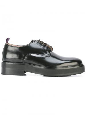 Туфли со шнуровкой Eytys. Цвет: чёрный