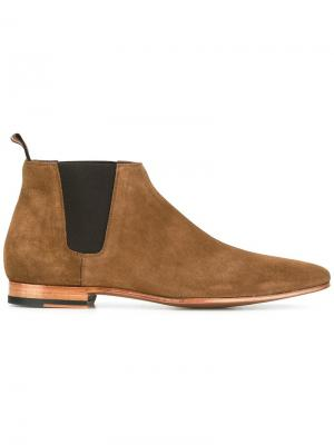 Ботинки Chelsea Paul Smith. Цвет: коричневый
