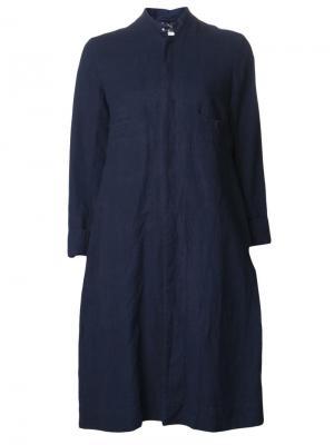 Пальто в индийском стиле Dosa. Цвет: синий