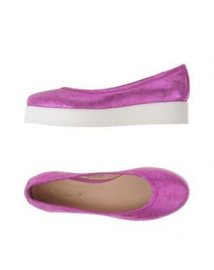 Туфли GIORDANA F.. Цвет: светло-фиолетовый