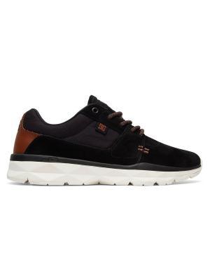 Кроссовки DC Shoes. Цвет: черный, персиковый