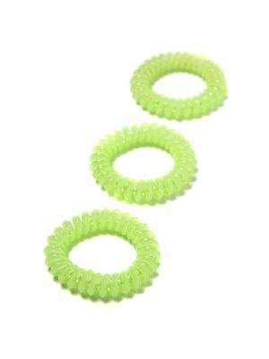 Резинка-браслет для волос Mitya Veselkov. Цвет: светло-зеленый