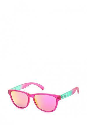 Очки солнцезащитные Roxy. Цвет: розовый