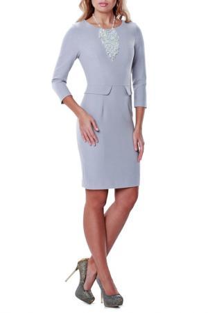 Платье Данео LESYA. Цвет: серый