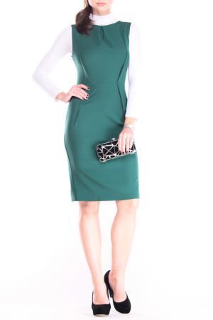 Платье Laura Bettini. Цвет: темно-изумрудный