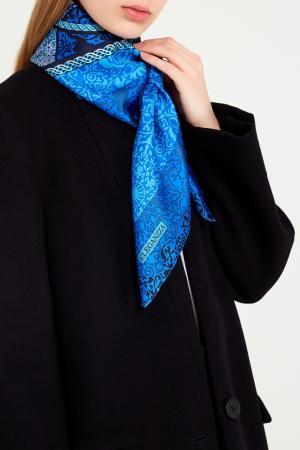 Синий платок с верблюдами Eleganzza. Цвет: синий
