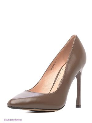 Туфли ELCHE. Цвет: коричневый