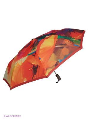 Зонт Stilla s.r.l.. Цвет: желтый, красный
