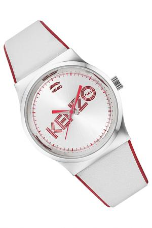 Watch Kenzo. Цвет: silver and white