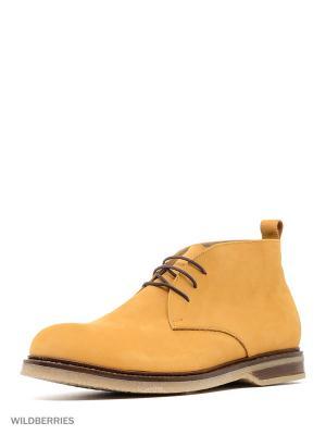 Ботинки КОЛЕСНИК. Цвет: желтый