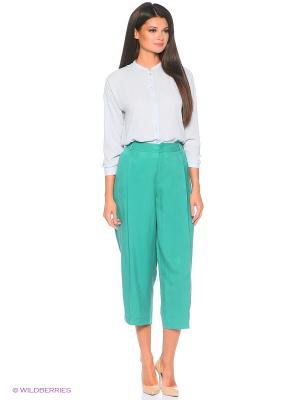 Кюлоты Pantaloni Torino. Цвет: зеленый