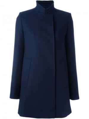 Двубортное пальто Proenza Schouler. Цвет: синий