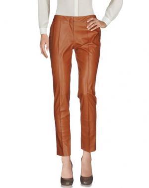 Повседневные брюки NATAN. Цвет: коричневый