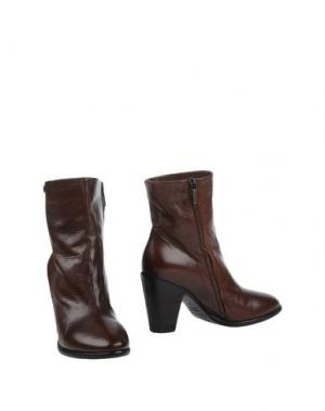 Полусапоги и высокие ботинки MANILA GRACE. Цвет: какао