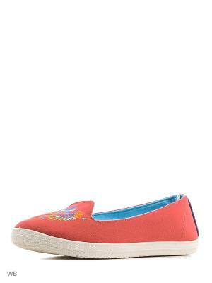 Кеды CentrShoes. Цвет: красный