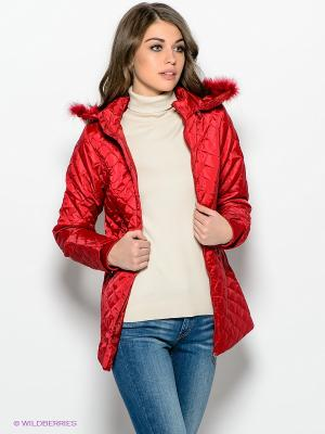 Куртка Ada Gatti. Цвет: красный