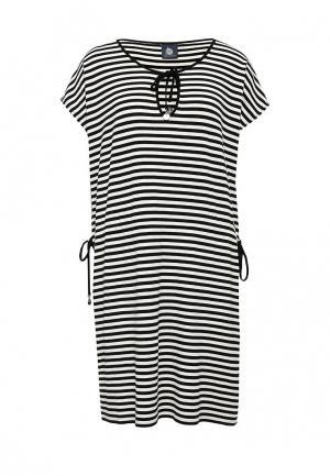 Платье Marina Yachting. Цвет: черно-белый