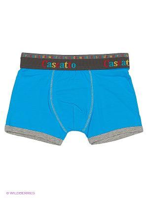 Боксеры Cascatto. Цвет: лазурный, голубой, светло-голубой
