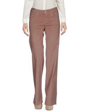 Повседневные брюки NOTIFY. Цвет: коричневый