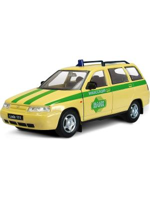 Машина LADA 111 инкассация AUTOTIME. Цвет: желтый