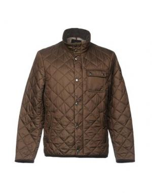 Куртка CONTE OF FLORENCE. Цвет: темно-коричневый