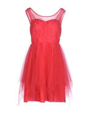 Короткое платье FRACOMINA. Цвет: фуксия