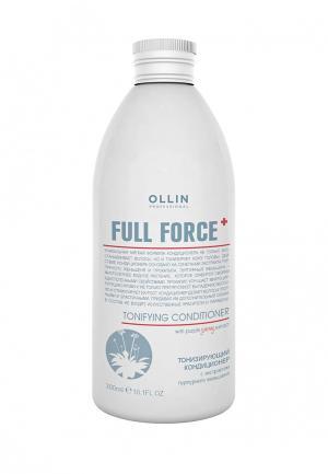 Кондиционер для волос Ollin. Цвет: белый