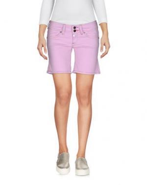 Джинсовые шорты PAUL FRANK. Цвет: розовый
