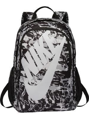 Рюкзак NIKE HAYWARD FUTURA 2.0 - PRIN. Цвет: темно-серый, белый, черный