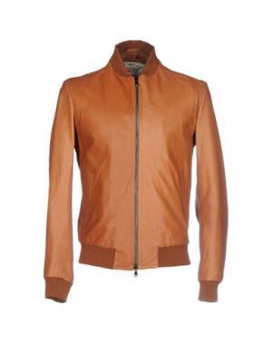 Куртка VINTAGE DE LUXE. Цвет: коричневый