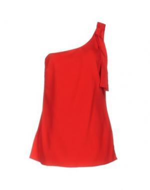 Топ без рукавов CARLA G.. Цвет: красный