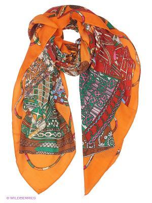 Платок Mario Spado. Цвет: оранжевый