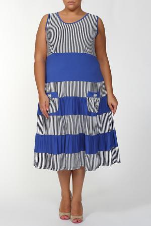 Платье MAXLIVE. Цвет: голубой